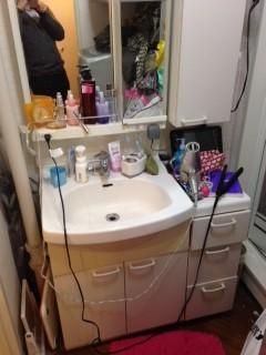 世界に一つだけの洗面化粧台