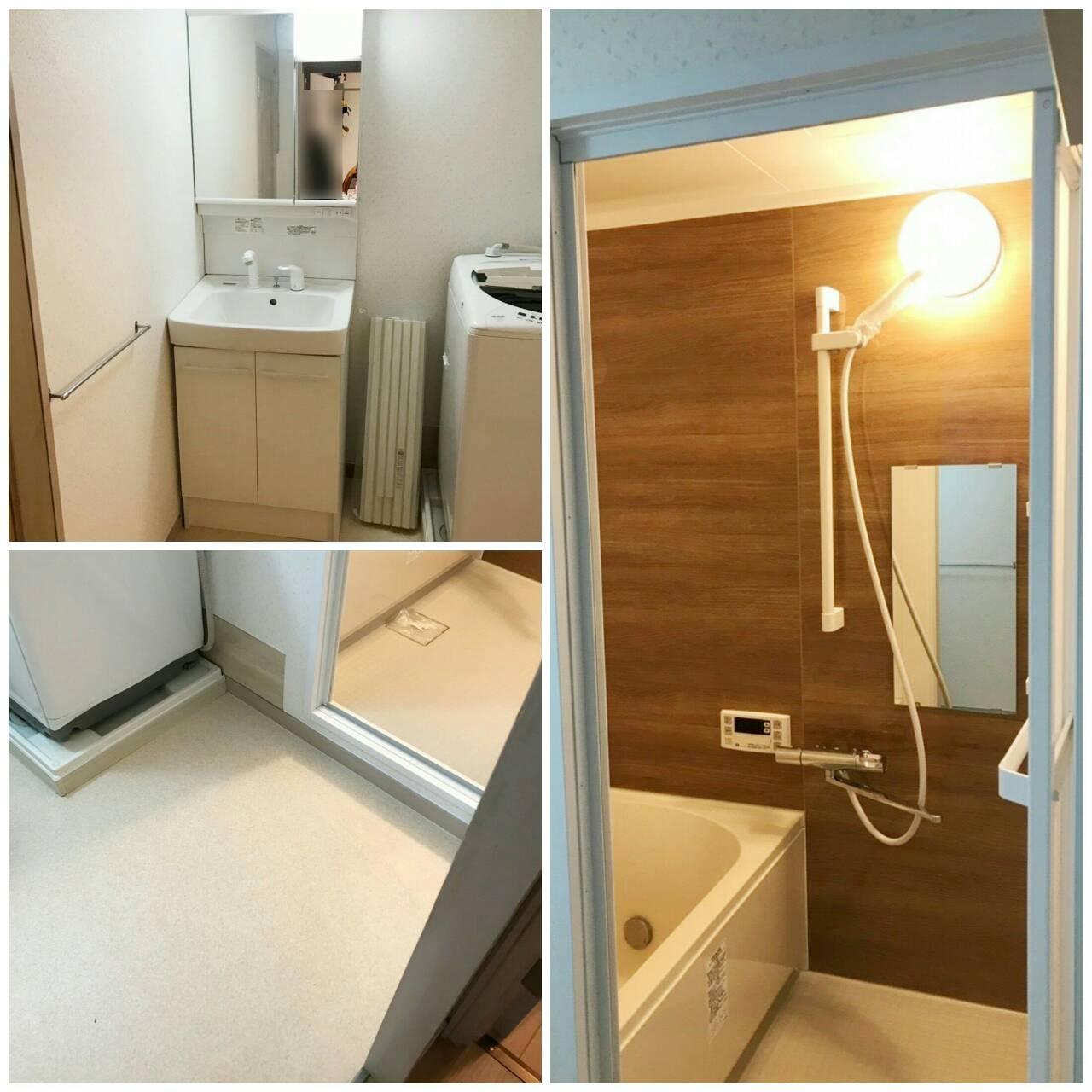 池田市五月丘 マンション 浴室・洗面リフォーム