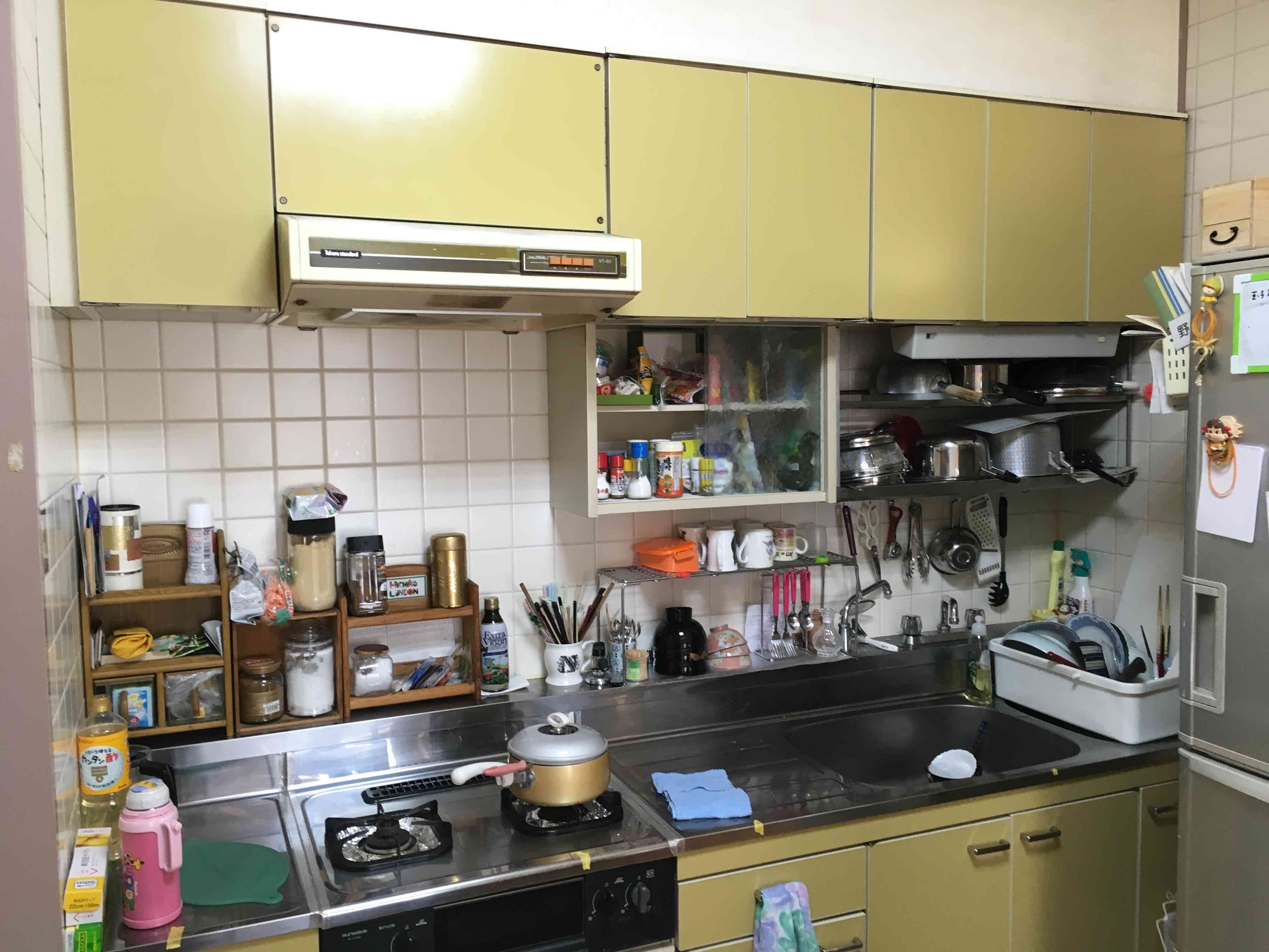 キッチン交換工事