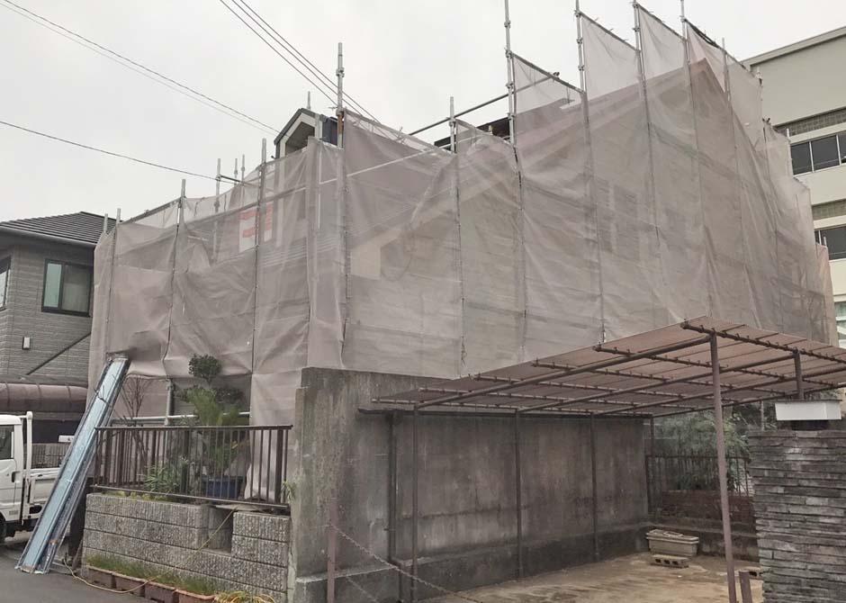 屋根カバー工法+塗装