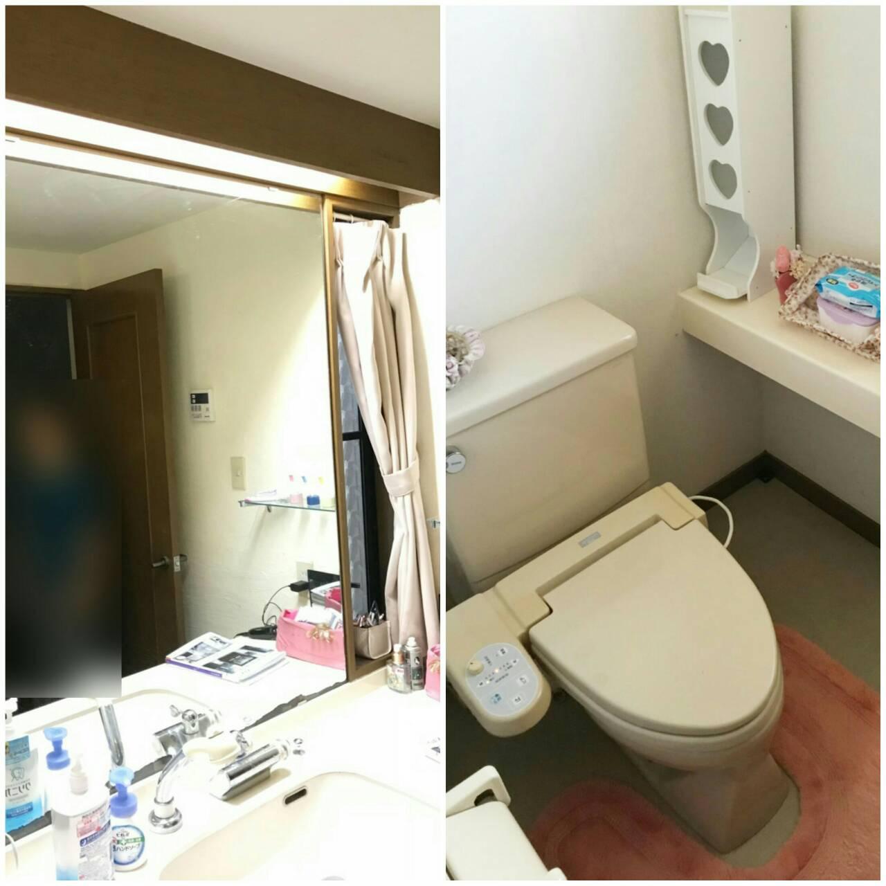 川西市清和台西 まるでホテル!?最高級の洗面台・トイレ!