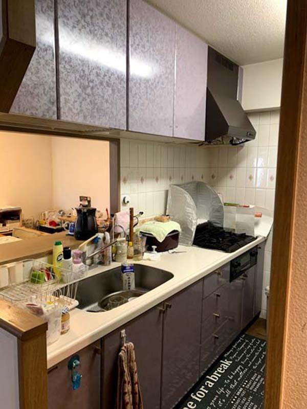 マンションリフォーム~キッチン~
